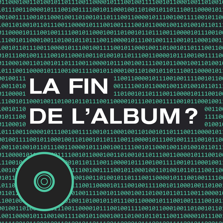 La bataille du data contre l'artistique : La fin de l'album ?