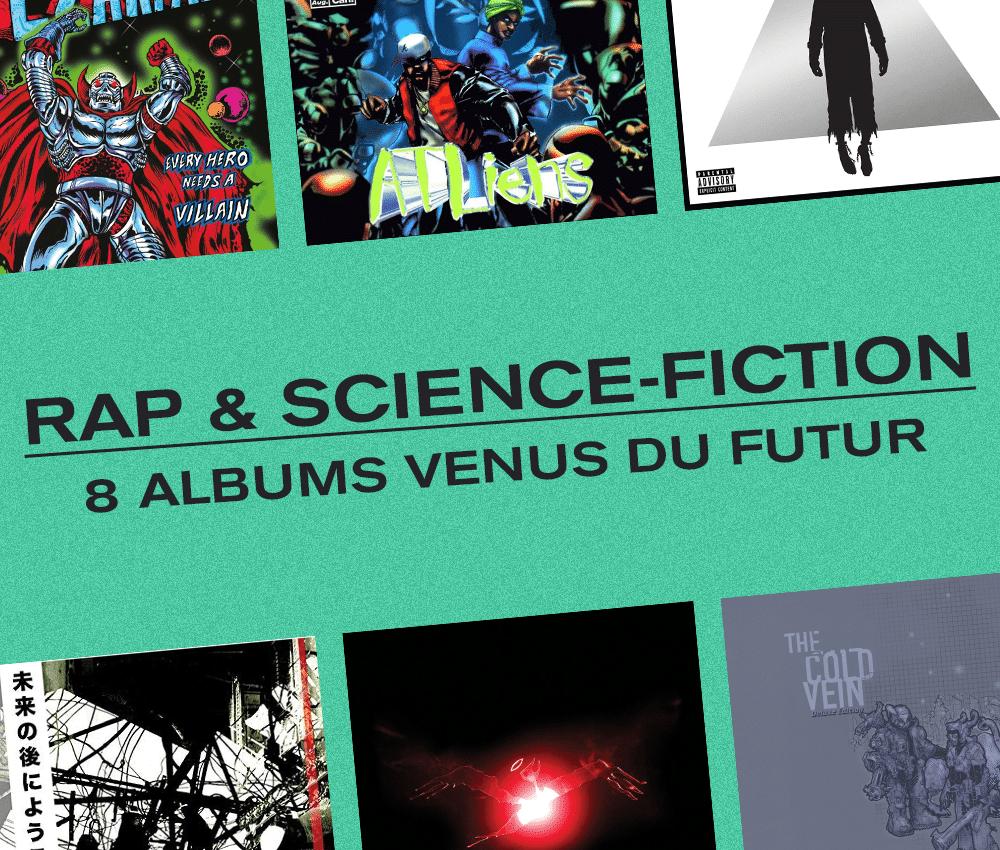 Photo de l'article : Le rap et la science-fiction : 8 albums en provenance du futur