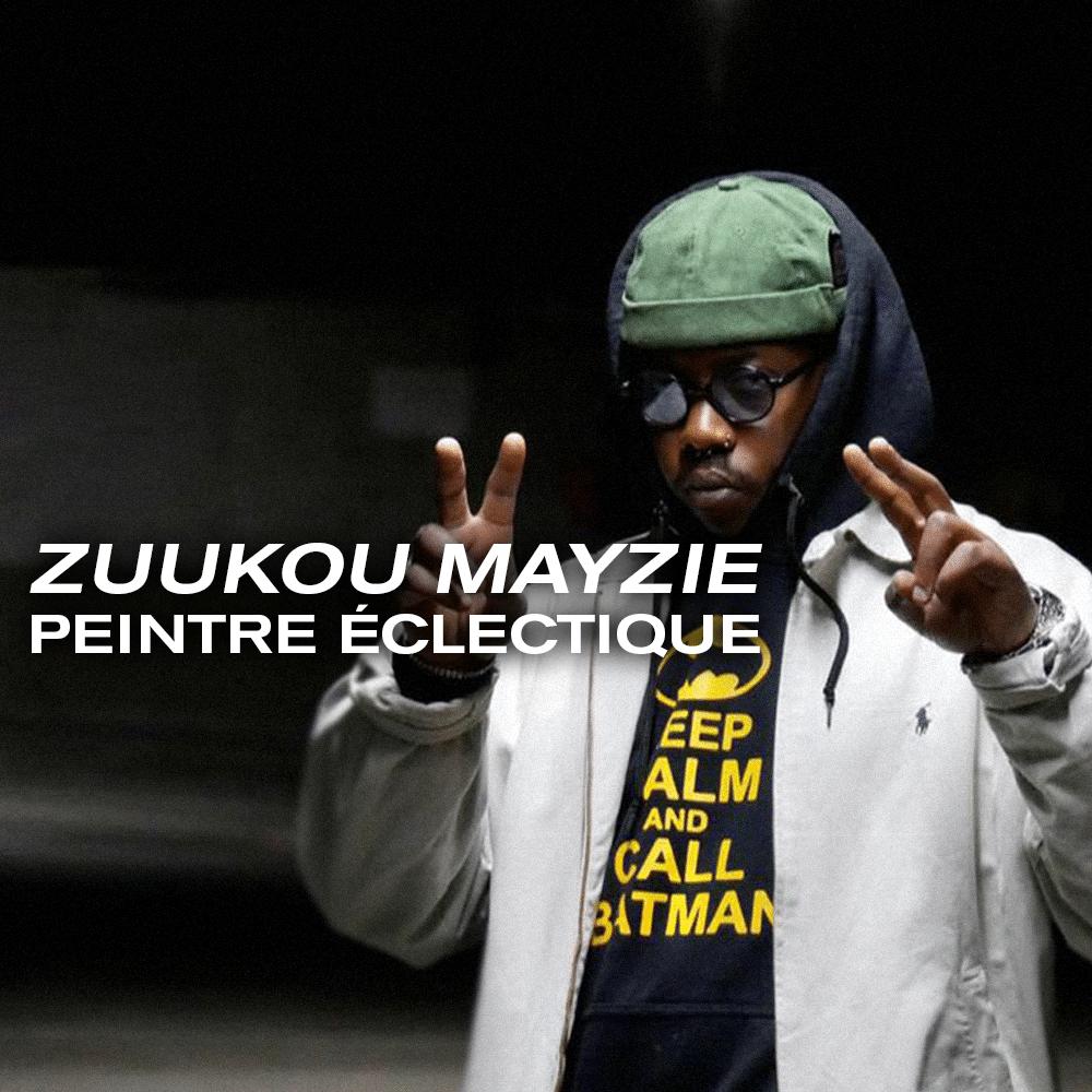 Zuukou Mayzie, le peintre éclectique